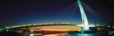大桥灯光照明图片