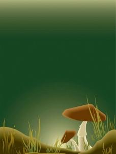 蘑菇矢量图图片
