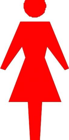 女性标志图片
